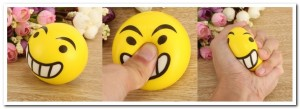 Anti-stress bal - Smiley