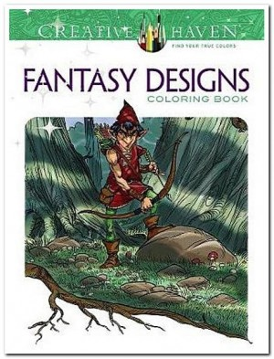 Fantasy Desings Coloring book