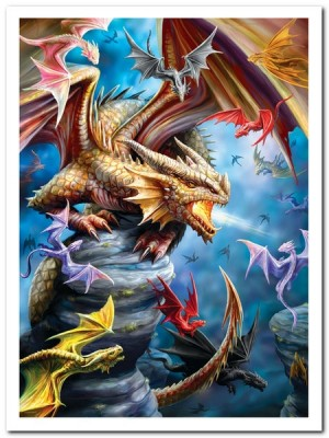 Anne Stokes: Dragon Clan - EuroGraphics - 1000 Stukjes