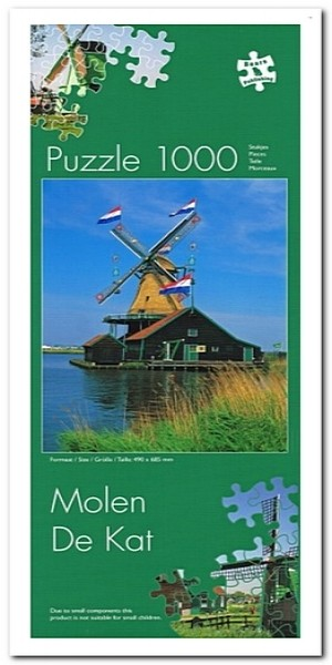 Molen De Kat - Bears Publishing - 1000 Stukjes
