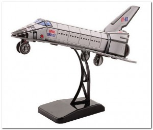 3D Puzzel Space Shuttle - Johntoy - 25 Stukken
