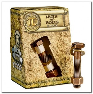 3D Breinbreker puzzel - Archimedes' Nuts and Bolts *