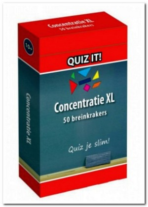 QUIZ IT! - Concentratietraining XL