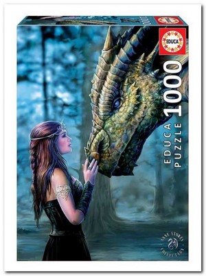 Anne Stokes: Once upon a time - Educa - 1000 Stukjes