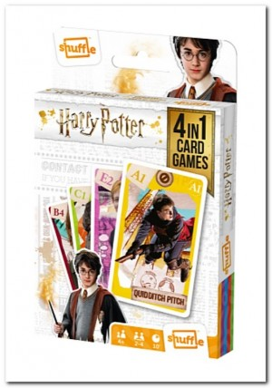 Harry Potter 4-in-1 - Kaartspel