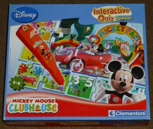 Mickey Mouse clubhouse: Interactieve quiz - Clementoni
