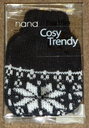 Hand Hottie Cozy Trendy - Winters design (Zwart)